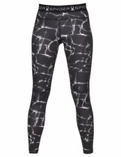 Spyder Womens Slash Capri Tight, Wave Black Print, XS NWT $79
