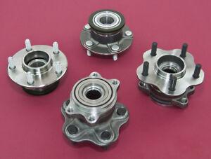 Front & Rear Non-ABS 5-Lug Conversion Hub 4x114.3 - 5x114.3 For 240SX 95-98 S14