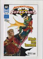 Adventures of Super Sons #6 NM- 9.2 DC Superman,Batman,Damian,Jon Kent