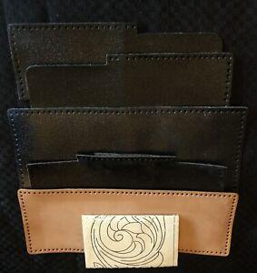 VTG 1980s Tandy Leather TRIPLEFOLD WALLET KIT #4046