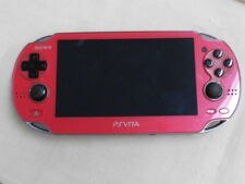A1371 Sony PS Vita PCH-1000 console Cosmic Red Handheld system PSV