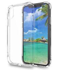 Funda para iPhone X Gel antigolpes Transparente, esquina reforzada