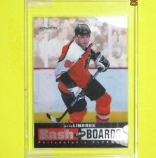 """ERIC LINDROS  96-97  """" BASH THE BOARDS 1609/3500 """"  1 of 10  Philadelphia Flyers"""