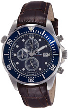 Rotary-AGS00070/05/C Men's Chronograph Watch Quartz Chronograph Brown Leather St