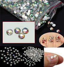 4mm Resin Nail Art Flatback Crystal 14 Facets Round Rhinestone Beads 1000Pcs CH