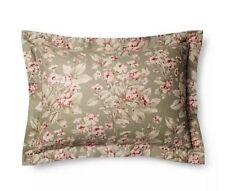 Ralph Lauren Amagansett Layla Sage Floral 2Pc King Pillow Sham Nip $230