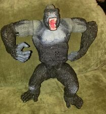 "King Kong figure Mei China 10"" gorilla with pounding arms action movie works"