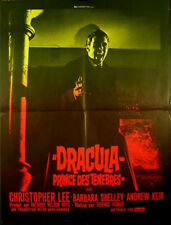 DRACULA, PRINCE OF DARKNESS 1966 Christopher Lee Barbara Shelley HAMMER FRENCH