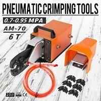 AM-70 Pneumatic Crimping Machine 6T Crimping Tool Wire U-shape Terminal HOT