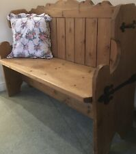 Solid Pine Country Chic Pew / Kitchen Bench
