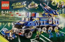 lego ALIEN CONQUEST set number 7066, pre-owned, Earth Defense HQ. 100% Complete.