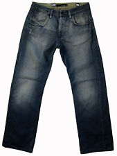 """LEE """"Lo & Loose - L6"""" buttonfly jeans 30x30 """"dirty denim"""" MADE IN AUSTRALIA!"""
