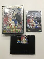 Robo Army SNK Neo Geo Aes Japan Near Mint Condition