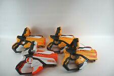 Hasbro NERF Lazer Tag Guns Blasters Set w/ iPod iPhone Dock - Lot of 4 Pieces