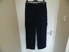 Mans blue work trousers from Ashdan size 31.5inch 80cms waist