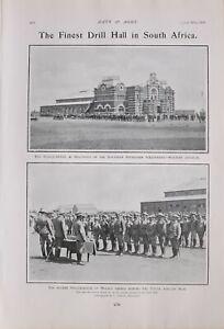 1903 PRINT HEADQUARTERS BULUWAYO SOUTHERN RHODESIAN VOLUNTEERS MEDAL