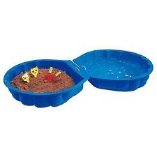 BIG Sandmuschel blau Kinder Planschbecken Sandkasten Wassermuschel Sandkiste