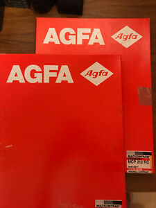 Agfa 12x16in Darkroom Paper RC Multigrade 2 Boxes Resin Coated Black and White