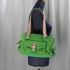 THE SAK Schulranzen Portemonnaie grün gestrickt Außenmaterial verschiedene