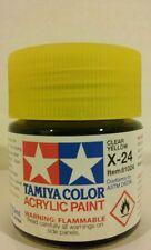Tamiya acrylic paint X-24  Clear Yellow  23ml