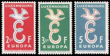 Luxembourg 1958 Mi 590-92 ** Europa Cept
