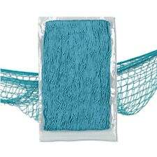 Tropical Party Turquoise Fish Netting Decoration
