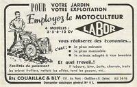 W0793 Motoculteur LABOR - Pubblicità 1956 - Advertising