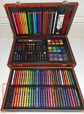 D.M. Creations Art, Portable Set, Complete Portable Art Set, MISSING two SEE PIC