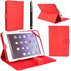PU Plegable Tipo libro De Cuero Funda Soporte Para Android Tablet PC 9 10 inches