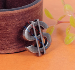 Lot 10PC Money DOLLAR SIGN Metal Rivet Studs Leather Crafts Purse Bag Conchos