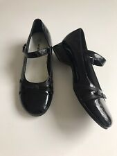 Smartfit Girls Size 2 Black Patent Maryjane Shoes!
