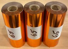 Kingsley Hot Stamp Stamping Foil Shiny Copper 3 Rolls 3 X 95 Free Ship