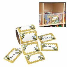 24 Bumblebee Name Tags...School Books...Party Identification Labels...Stickers
