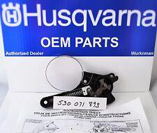 NEW Husqvarna and Poulan 530071893  OEM Chain Brake Kit  Chainsaw