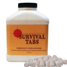 Vanilla Malt 15 day Supply-Survival Tabs Emergency Food Rations Nutrition Volume