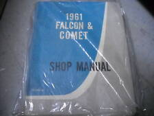 1961 Ford Falcon Service Shop Repair Manual BOOK