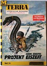 Terra utopische Romane Band 314 Prospekt Eiszeit in Z1