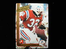 1991 Action Packed Leonard Russell  24 kt gold rookie card Patriots   # 13G