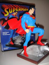 DC COMICS SUPERMAN STATUE By JIM LEE MIB!! JUSTICE LEAGUE Batman JLA ANIMATED
