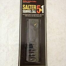 Eddie Salter 5in1 Squirrel Call Model ES801 NIP Hunting