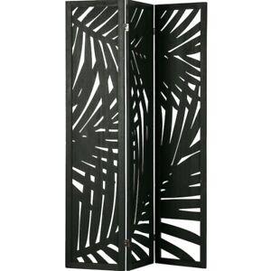 BNWT Harper Room Divider/folding screen by Woood in Black