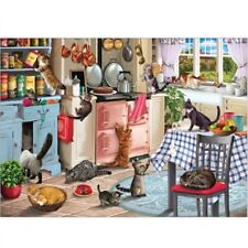 1000 piece Jigsaw Puzzle | CATS IN THE KITCHEN | New & Sealed