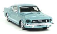 NEU: 1964 FORD Mustang Sammlermodell hellblau metallic ca. 1:43 Neuware BBURAGO