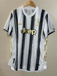 Adidas Juventus 20/21 Authentic Home Soccer Football Jersey Mens 2XL GJ7601 NEW