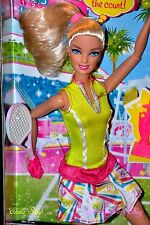 BARBIE DOLL FULLY POSEABLE ARTICULATED JOINTED TENNIS PLAYER