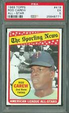 1969 Topps All Star Rod Carew #419 PSA 5 Twins HOF