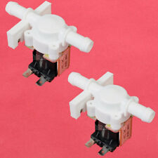 2pcs DC 12V Electric Solenoid Valve Air Water Magnetic Normally Closed N/C