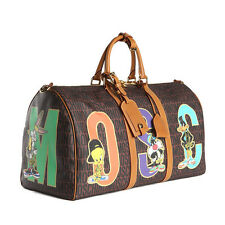 AW15 Moschino Couture Jeremy Scott LOONEY TUNES DUFFLE TRAVEL BAG Bugs Tweety