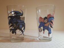 super friends dc comics Warner bros rare promo glasses superman and batman 2000
