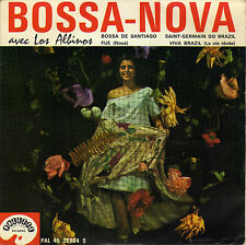LOS ALBINOS BOSSA-NOVA VIVA BRAZIL FRENCH ORIG EP